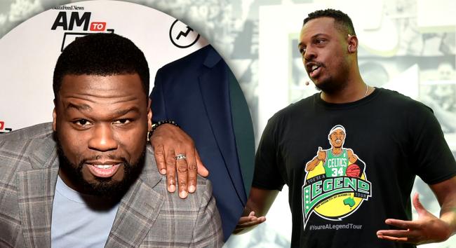 50 Cent Cracks Up Watching How Paul Pierce Got Himself Fired From ESPN
