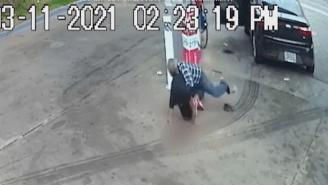 82-Year-Old Man Stops Teenaged Armed Carjacker By Tackling Him, Using Old Man Strength