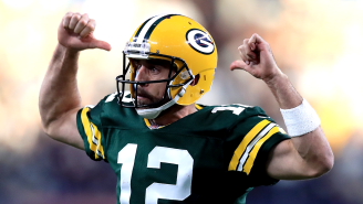 Aaron Rodgers Launches New Website That Wants To Be The Athlete Version Of IMDb
