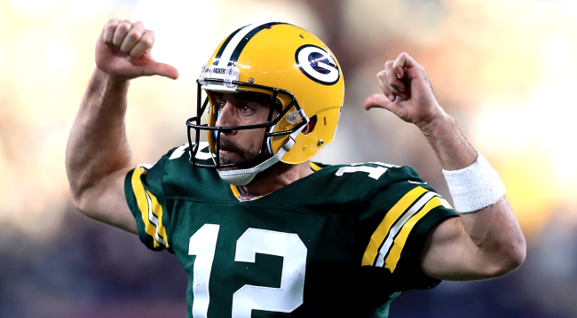 Aaron Rodgers Launches New OSDB Website The Athlete Version Of IMDb