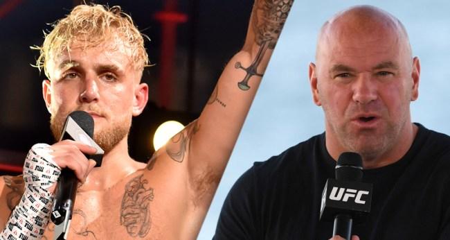 Dana White Threatens Legal Action Against Jake Paul Calls Him Idiot