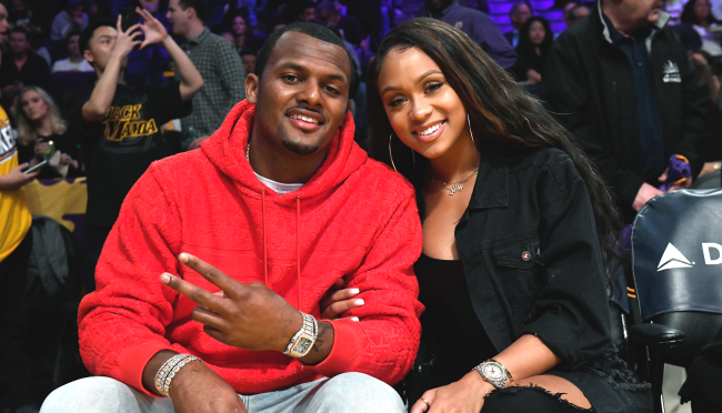 Deshaun Watsons Girlfriend Jilly Anais Is Defiantly Sticking With Him