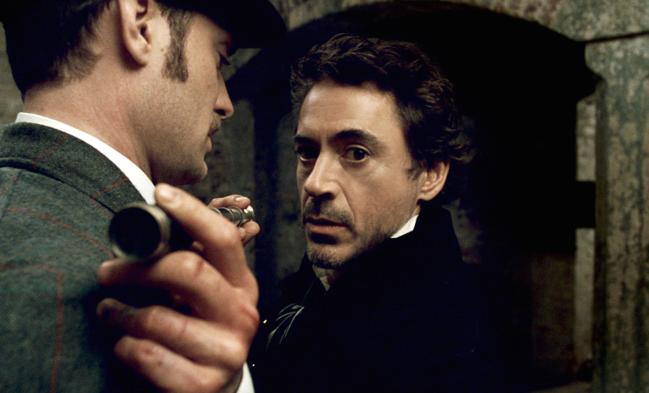 Downey Jr Sherlock Holmes