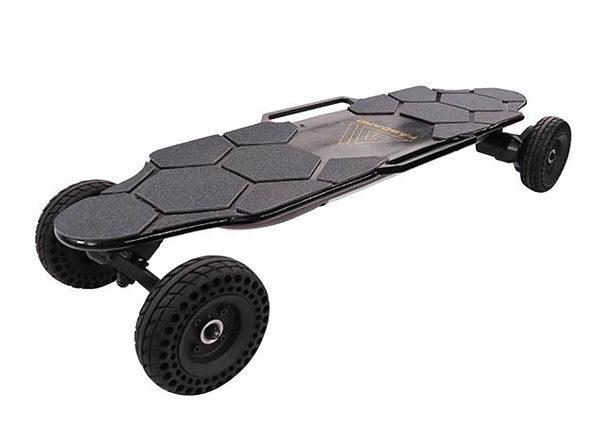 Faboard Black Rover Dual Belt All-Terrain Electric Skateboard