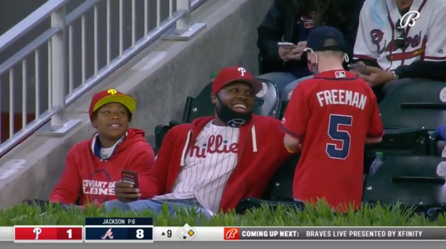 Freddie Freeman Surprises Young Fan Who Gave Home Run Ball Away