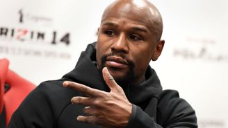 Video Shows Boxer Floyd Mayweather Threatening To Knock Out Man In Front Of His Wife During Heated Confrontation At Miami Hotel