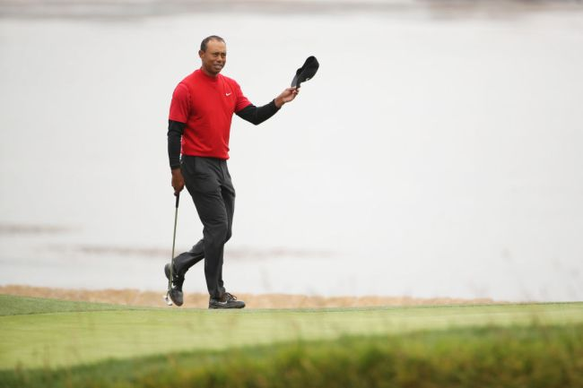 Tiger Woods US Open Pebble Beach