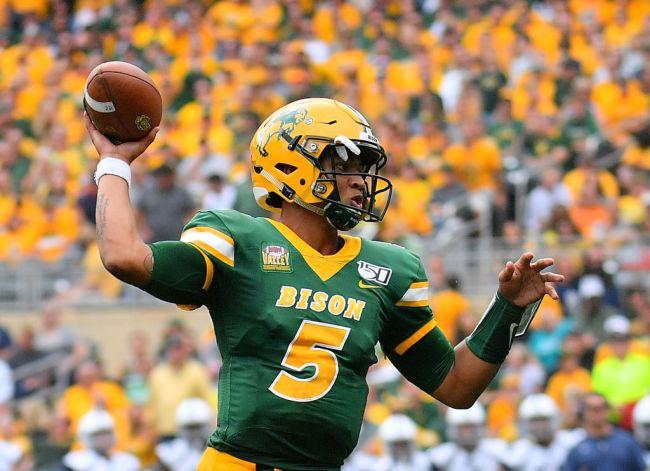 Trey Lance North Dakota State Bison NFL Draft