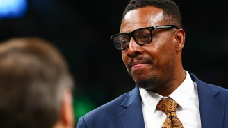 ESPN's Paul Pierce Jumped On IG Live Stream With A Room Full Of Strippers