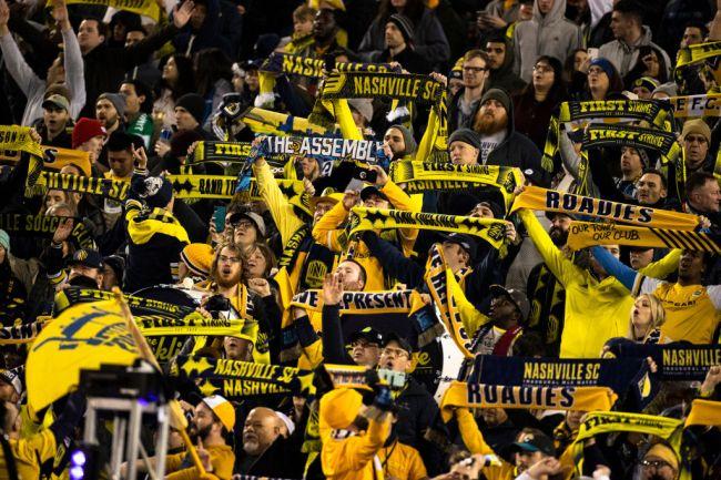 Nashville SC Soccer The Roadies MLS