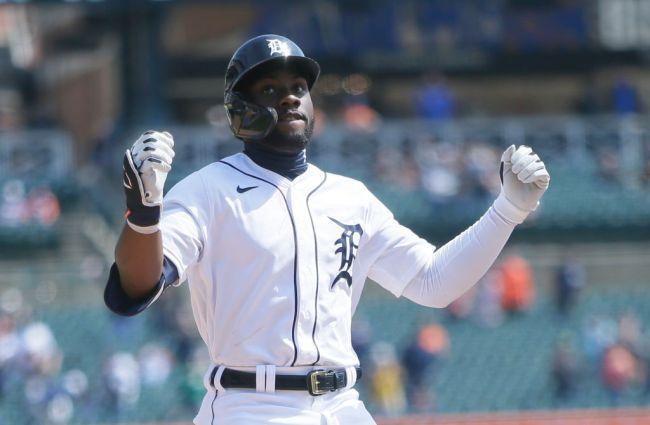 Akil Baddoo Detroit Tigers Baseball Rookie