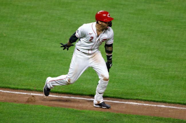 Nick Castellanos Cincinnati Reds Home Run