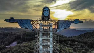 Jesus-Measuring Contest Breaks Out In Brazil As City Aims To Build The Country's Largest Son Of Christ Statue