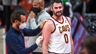 Pouty Kevin Love Dragged For Quitting On Team And Committing The Laziest Turnover You'll See All Season