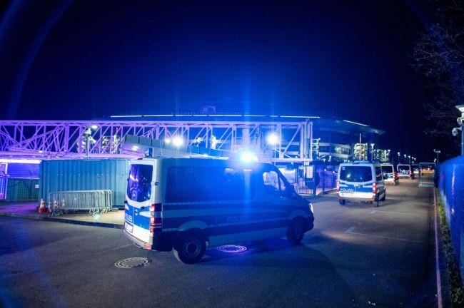 FC Schalke Fans Police Germany Bundesliga