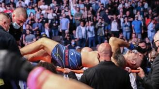 Dana White Gets Dragged For Bold Response To Chris Wiedman's Horrific Leg Injury At UFC 261