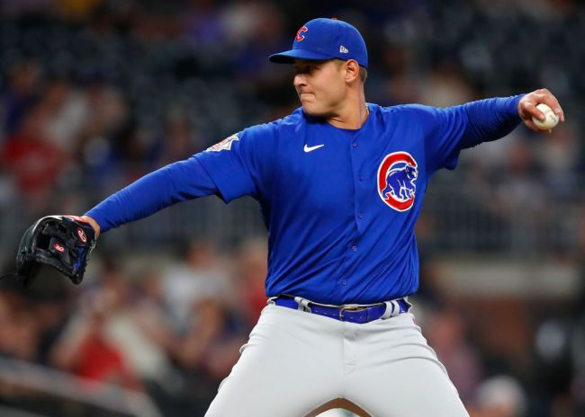 Anthony Rizzo Cubs Pitching