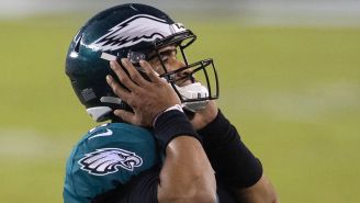 The Eagles' Toxic Revolving Door At Quarterback Continues To Spin As A Position Battle Heats Up Entering The Preseason