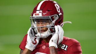 DeVonta Smith Weighs Less Than Expected And His Combine Measurements Are Causing Quite The Stir Amongst NFL Teams