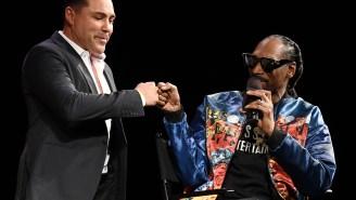 The Internet Reacts To Oscar De La Hoya's Absolutely Bizarre Commentary At Jake Paul-Ben Askren Triller Fight Club Event