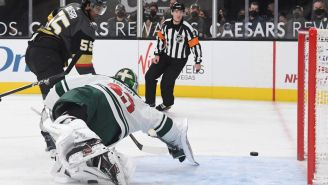 Wild Goalie Cam Talbot Committed Highway Robbery With Back-To-Back Saves That Could Both Be No. 1 On SportsCenter
