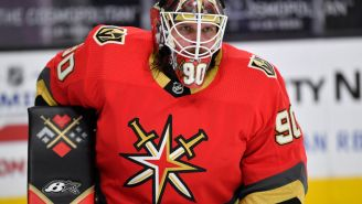 Golden Knights Goalie Robin Lehner Rips NHL For Forcing Players To Take The Vaccine, Lying About Its Protocols