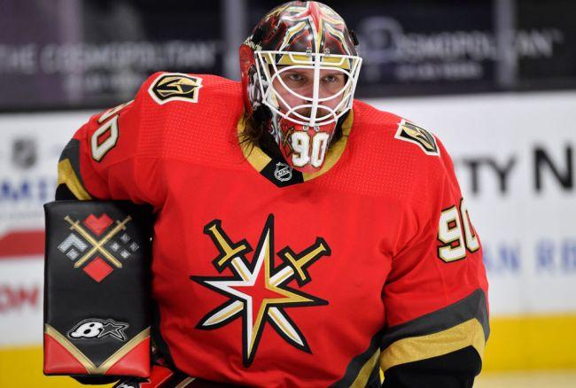Las Vegas Golden Knights Goalie Robin Lehner