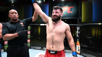 UFC's Julian Marquez Bizarrely Calls Out Chiefs' Patrick Mahomes, Tyreek Hill, And Travis Kelce To A Badminton Or Pickleball Competition After Win