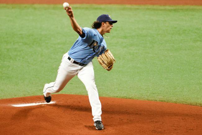 Brent Honeywell Jr. Tampa Bay Rays MLB Debut