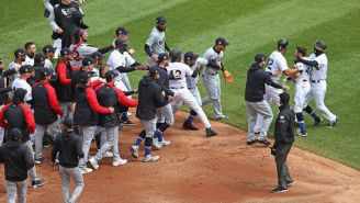 The World's Softest Bench-Clearing Brawl Broke Out Between Chicago And Cleveland After Adam Eaton Threw A Fit