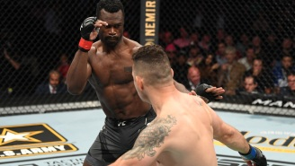 UFC Fighter Chris Weidman Suffers Gruesome Injury After His Leg Breaks During Fight Vs Uriah Hall At UFC 261