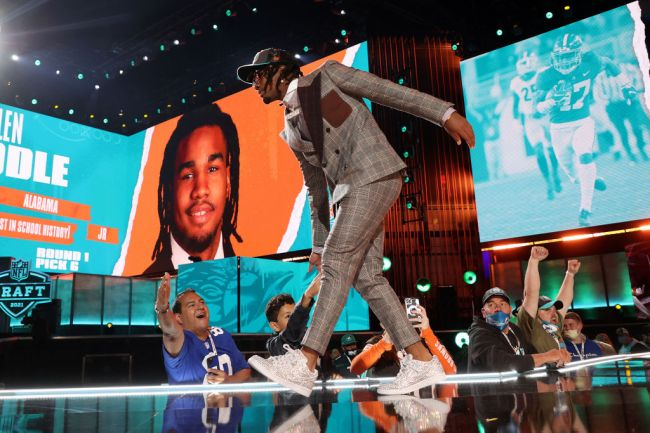 Jaylen Waddle NFL Draft Miami Dolphins