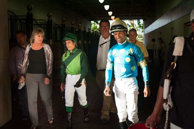 Kendrick Carmouche Kentucky Derby Black Jockey