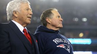 Robert Kraft Appeared To Fire Shots At Bill Belichick For Ignoring Scouts On His Most Recent Draft Bust