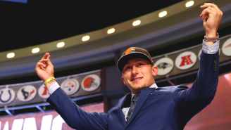 A Fond Look Back At Jon Gruden Falling All Over Himself Hyping Johnny Manziel During The 2014 NFL Draft