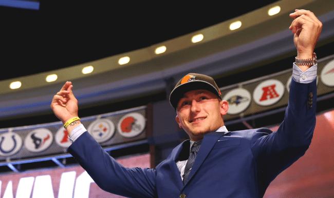 Jon Gruden Heaping Praise On Johnny Manziel During 2014 NFL Draft