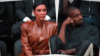 Kanye Is Reportedly 'Super Annoyed' People Think Kim Was The One Who Filed For Divorce