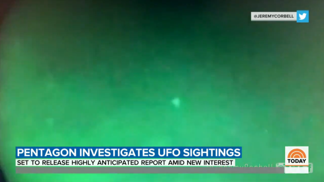 Leaked Video Of UFOs Captured By The US Navy Is Real Says Pentagon