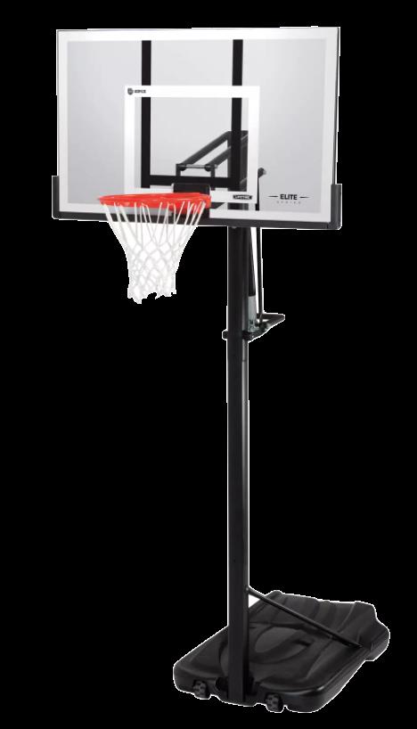 "Lifetime 54"" Steel Framed Acrylic Portable Basketball Hoop"