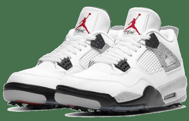 Nike Air Jordan 4 IV Retro G Golf White Cement