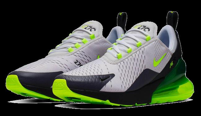 Nike Air Max 270 Grey Neon Volt