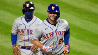 Pete Alonso Hit A Home Run Mere Moments After A Fan Yelled At Him About The Over/Under