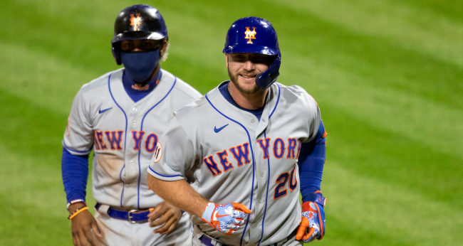 Pete Alonso Hit A Home Run Moments After Fan Reminds Him Of Over Under