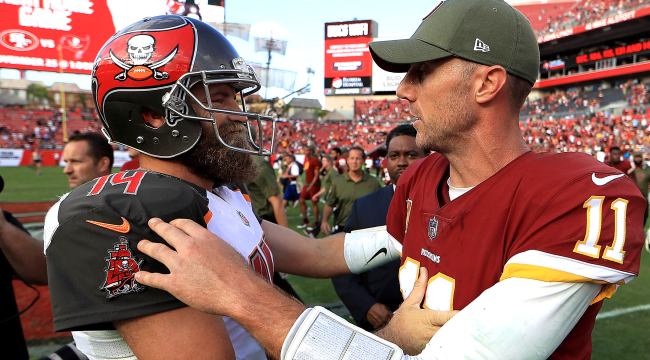 Ryan Fitzpatrick Tells Story About Texting Alex Smith Following Injury
