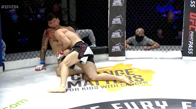 Khetag Plieve Loses Finger Fighting Devin Goodale CFFC94