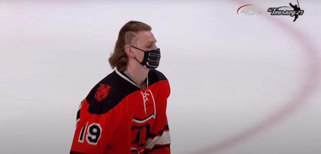Minnesota State Hockey Tournament All-Hair Flow