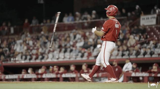 Arkansas Baseball Robert Moore