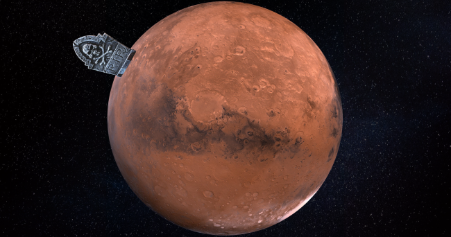 Settlers On Mars Who Die Could End Up Being Eaten