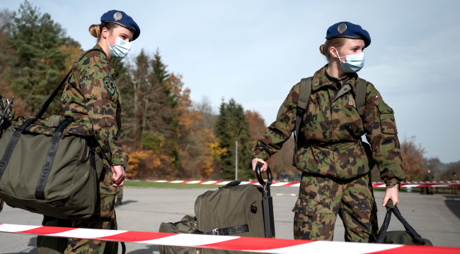 Swiss Army Will Stop Issuing Female Recruits Mens Underwear