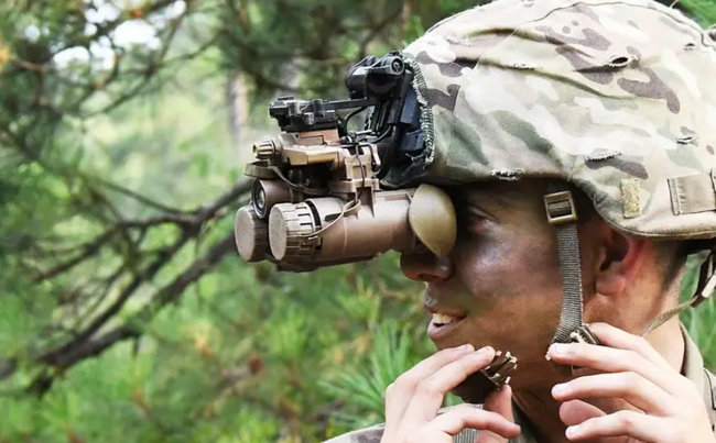 US Army Night Vision Goggles Change How The Battlefield Looks